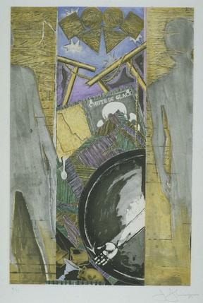 The Seasons (Fall) 1987 by Jasper Johns born 1930
