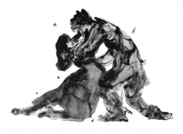 Kara_Walker_Porgy-and-Bess-embracing1