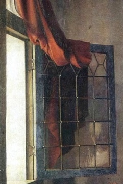 Jan_Vermeer_-_Girl_Reading_a_Letter_at_an_Open_Window (detail)